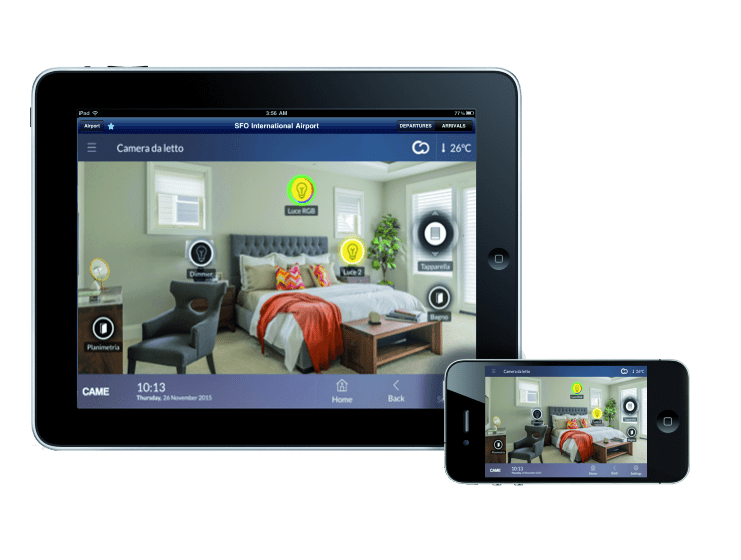 Plafoniere Smart : Smart home and thermoregulation came