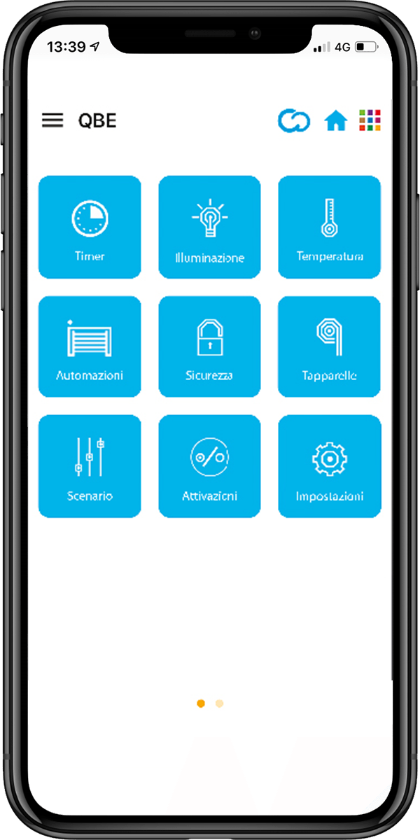 Came QBE User App type of system