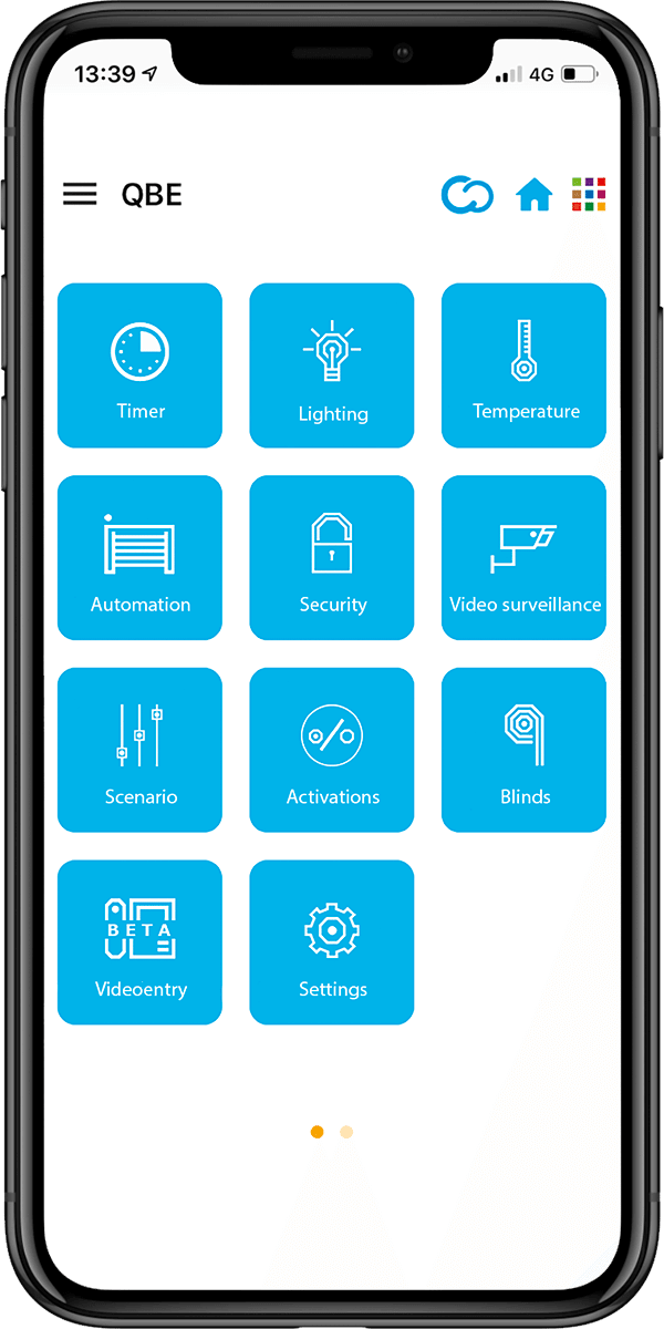 Came QBE User App status of the device